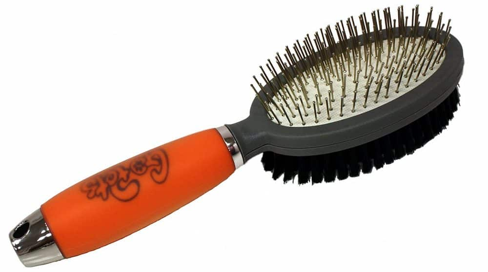 GoPets Double Sided Pin And Bristle Brush