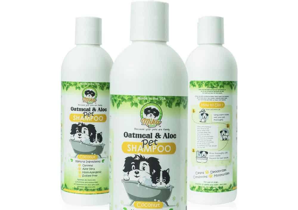 Mika Pets Oatmeal Dog Shampoo