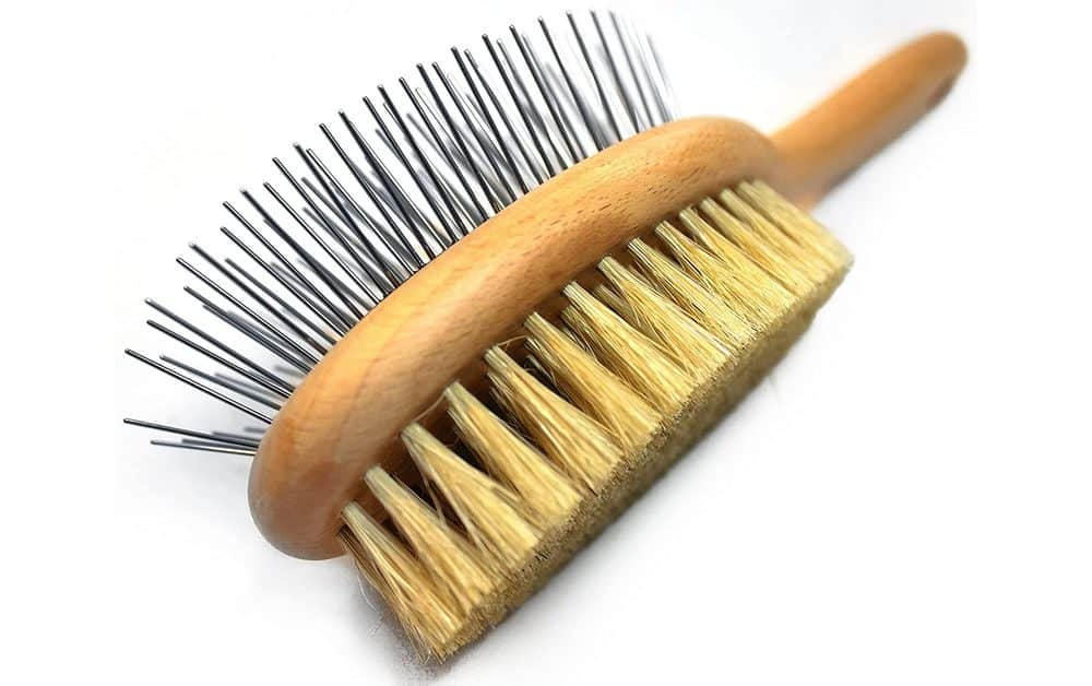 Paws Pamper Boar Bristle And Pin Brush